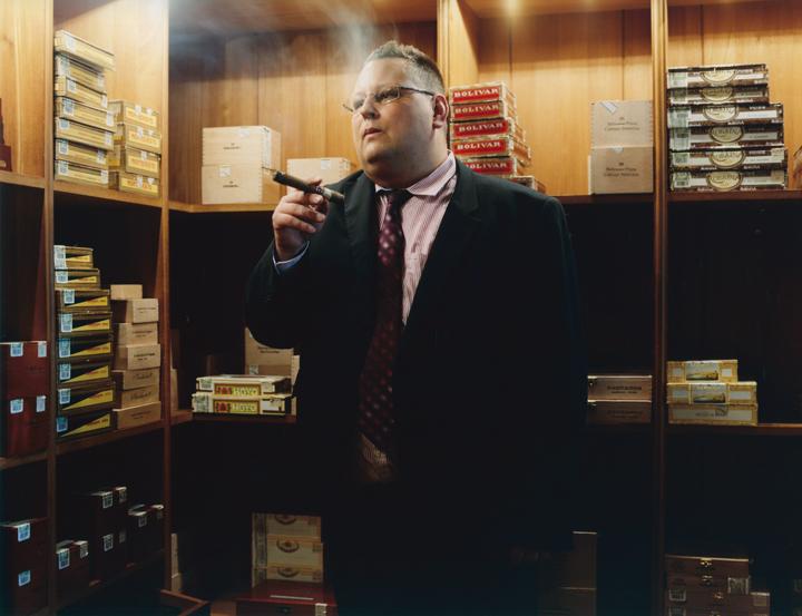 Marek Zawisla, Leiter des Casa del Habano, Hotel Savoy. Foto: sibylle Fendt