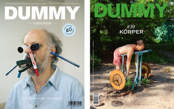 DUMMY Cover Nr. 40 Jubiläums-Ausgabe und Nr. 39 Körper