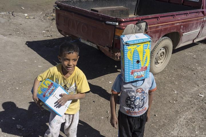 Libanon, Bekaa Region, Flüchtlingslager, Syrische Flüchtlinge