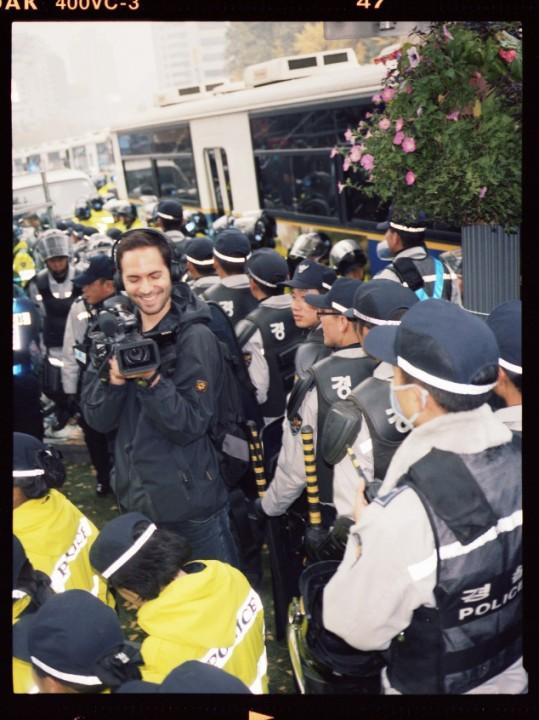 Foto: Julian Röder Maik Reichert in Seoul G20 Gipfel 2010