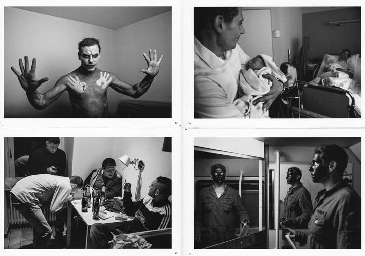 Aus dem Fotobuch Sugar & Zint von Alexander Janetzko (Seite 12 bis 15).