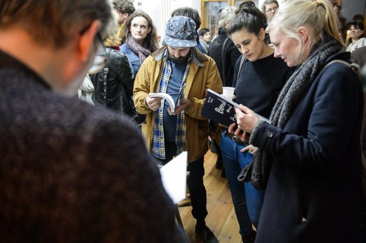 Book Release im Off Studio in Berlin Kreuzberg, Foto: Piero Chiussi