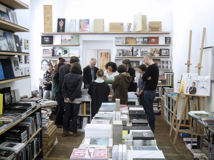 Besuch bei Hannes Wanderer, 25 Books, Foto: Florian von Ploetz