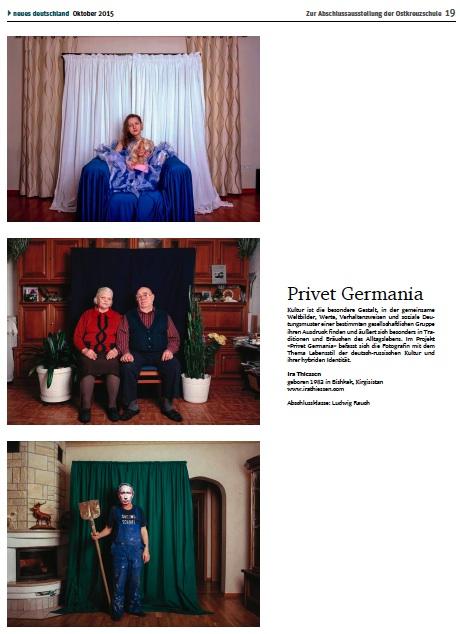 Neues Deutschland Seite 19