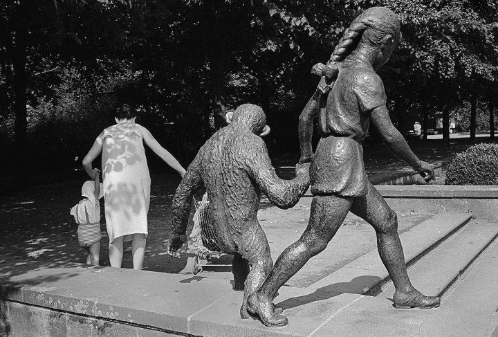 Bronze Sculpture, Berlin 1984, Kapitel Joyce, Foto: Thomas Sandberg