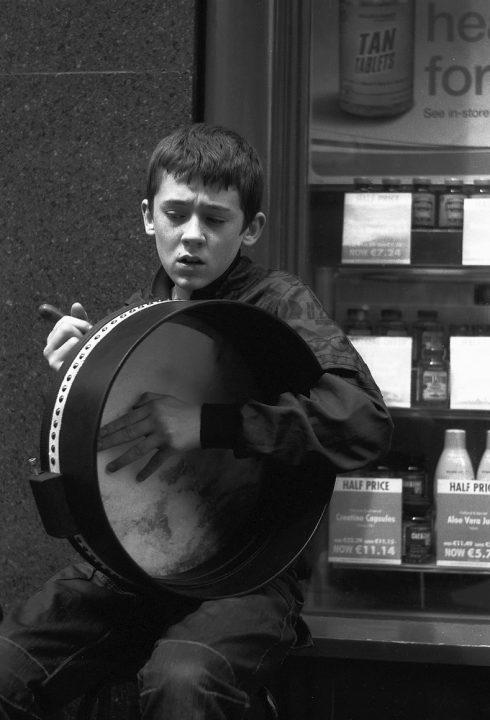 On Grafton Street, Dublin 2011, Foto: Thomas Sandberg