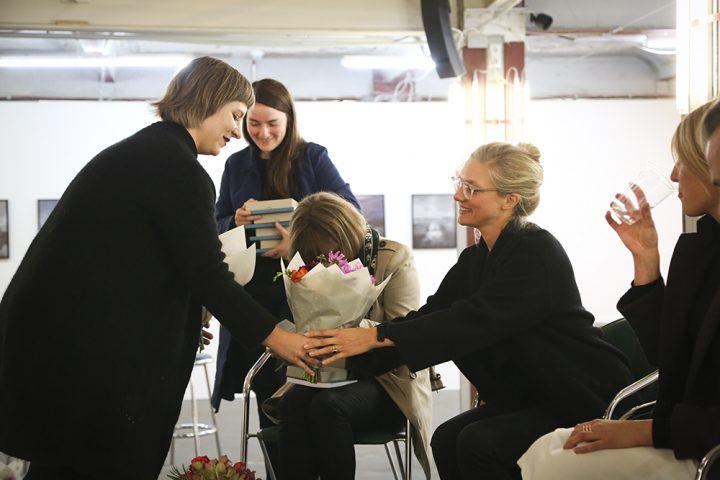 Dankeschön von der Abschlussklasse an die Teilnehmer, Foto: Claudia Konerding