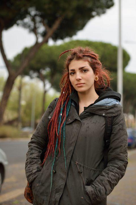 """Claudia, Gordiani aus der Serie """"Are You Happy"""" von Göran Gnaudschun"""