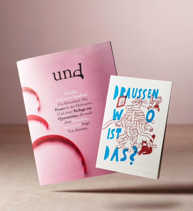 """""""Das Und"""" Nr. 8 Heftcover"""